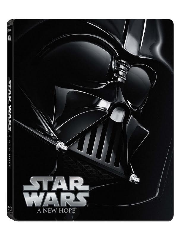 Star Wars: Epizoda IV - Nová naděje (CZ Blu-ray steelbook)