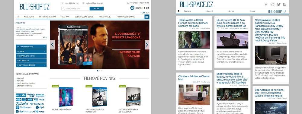 Blu-shop.cz & Blu-space.cz