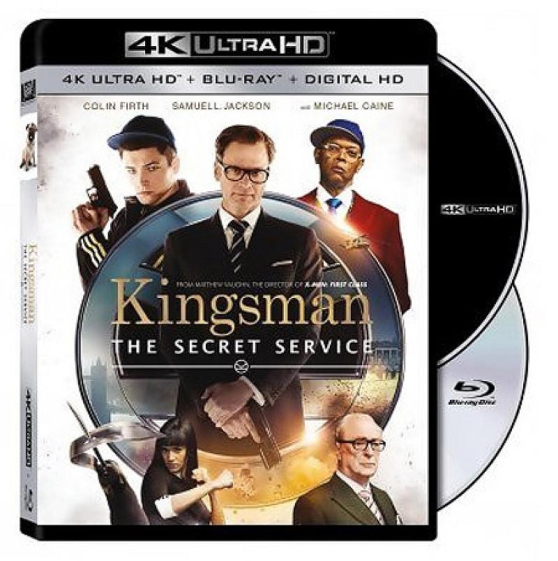 Kingsman Ultra HD Blu-ray