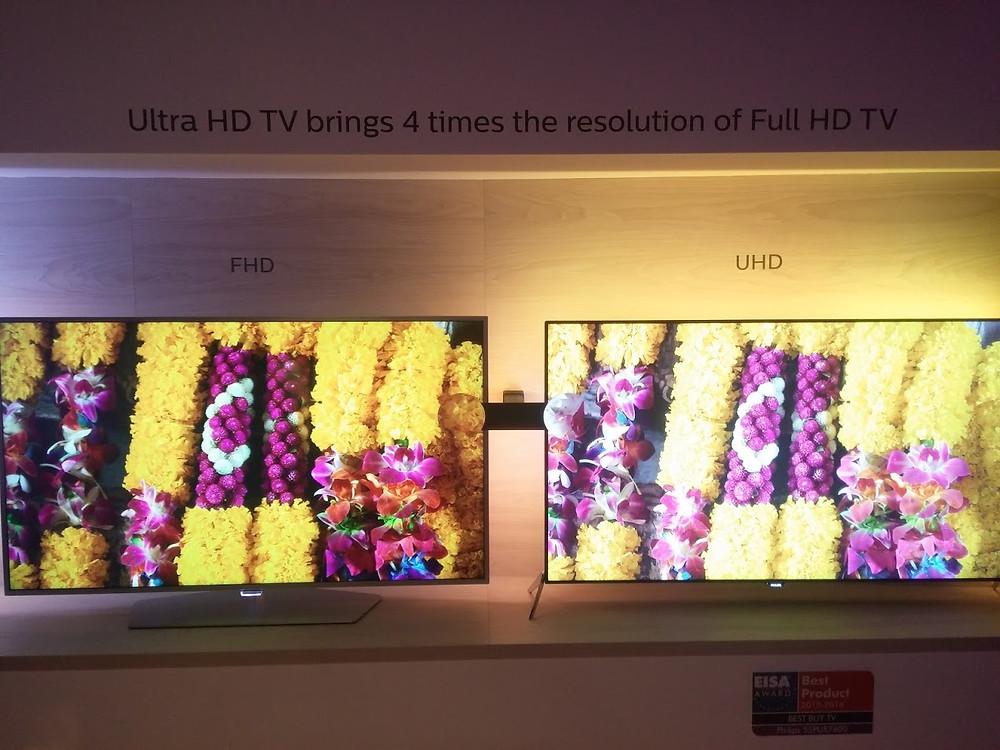 Philips: UHD vs. FHD