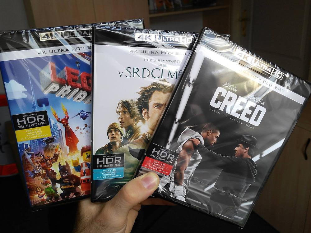 První Ultra HD Blu-ray tituly (Magic Box)