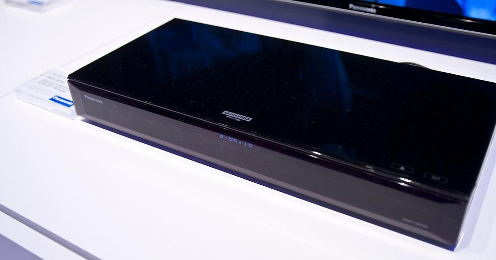 Panasonic DMP-UB700 na veletrhu IFA