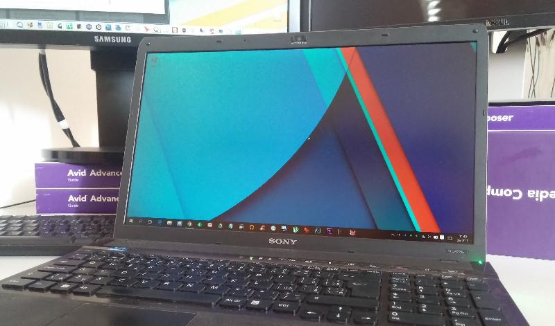 Windows 10 na Sony Vaio