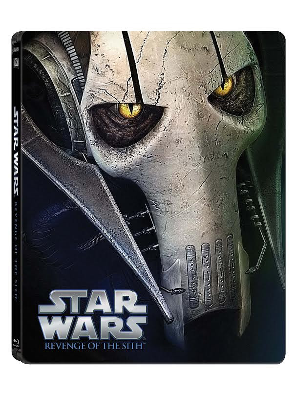 Star Wars: Epizoda III - Pomsta Sithů (CZ Blu-ray steelbook)