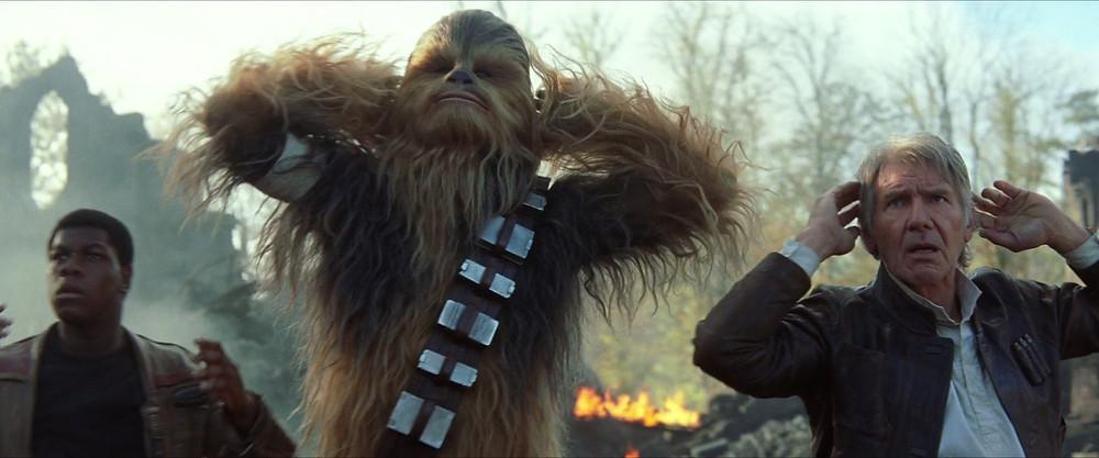 Star Wars: Síla se probouzí (Chewie a Han Solo)
