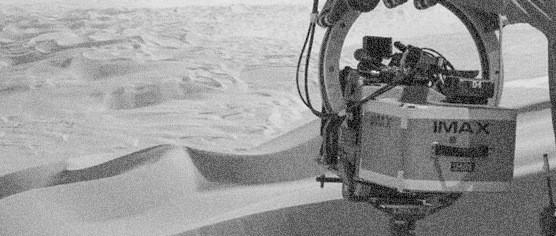 IMAX kamera na placu Star Wars