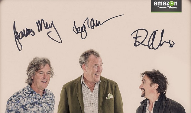 Clarkson, Hammond, May (zdroj. Instagram Amazonu)