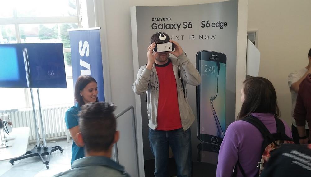 Samsung VR (Alza Android RoadShow 2015, Brno)