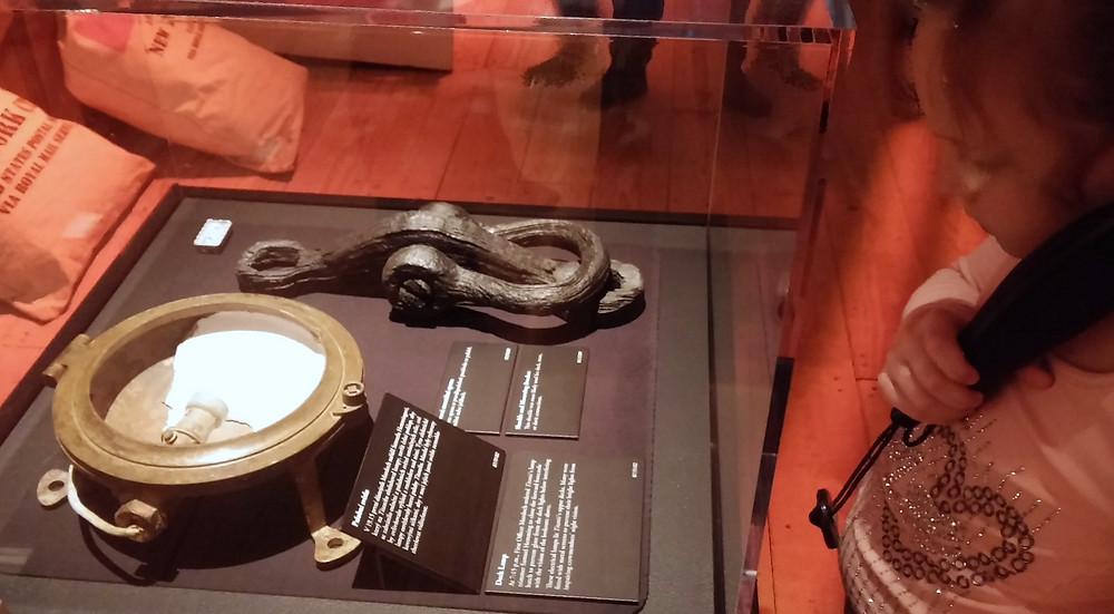 Vylovené artefakty