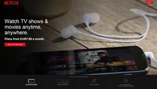 Obrazem: Jak na Netflix - první kroky od registrace po streamování videí