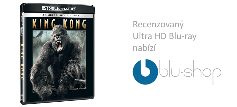King Kong na Blu-shop.cz