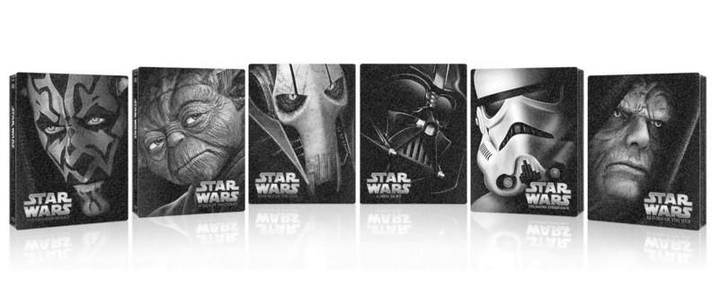 Star Wars sága v českých Blu-ray steelboocích