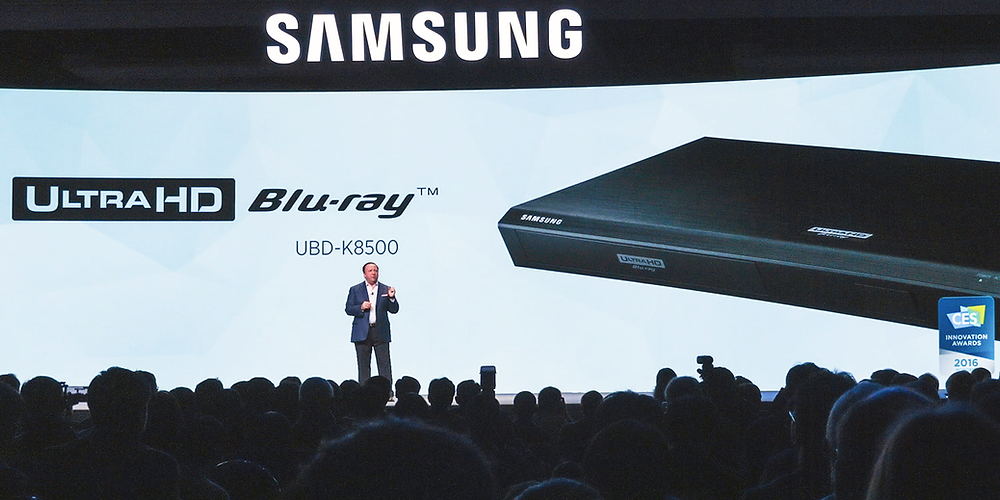 Samsung a jejich první UHDBD player (zdroj: digitaltrends.com)