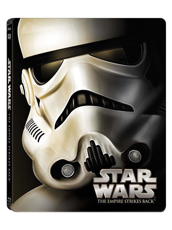 Star Wars: Epizoda V - Impérium vrací úder (CZ Blu-ray steelbook)