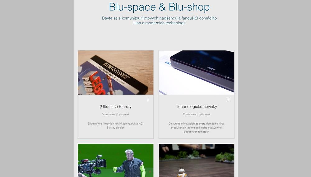 Blu-space fórum