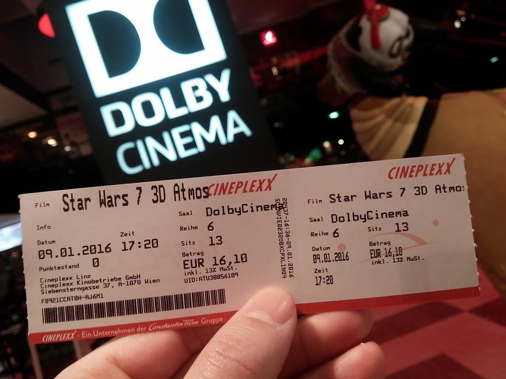Vstupenka na Star Wars v Dolby Cinema