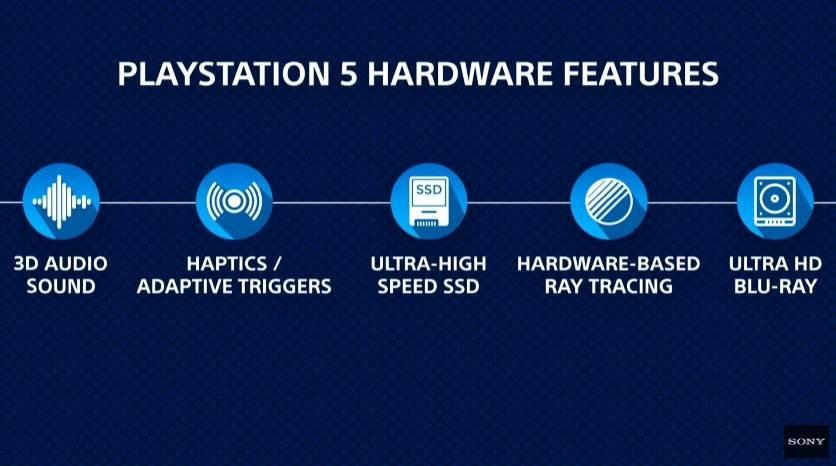 PlayStation 5 - hardwarová výbava