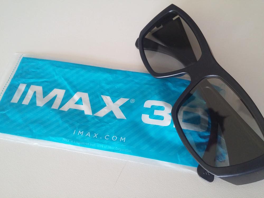 Nové IMAX 3D brýle
