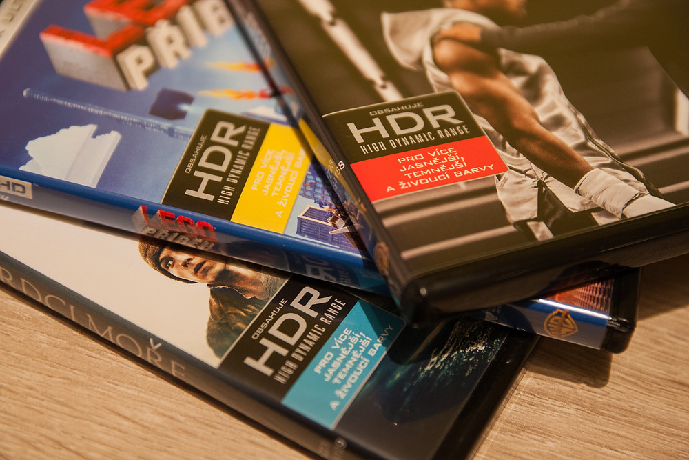 První české Ultra HD Blu-raye (2016, Magic Box)