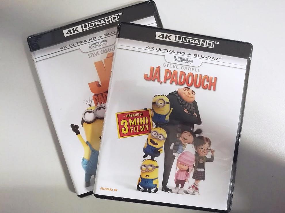 Já, padouch 1 a 2 na Ultra HD Blu-ray - první Dolby Vision tituly