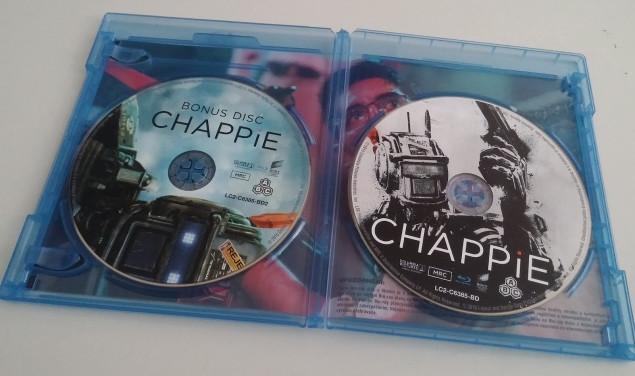 Chappie na českém Blu-ray