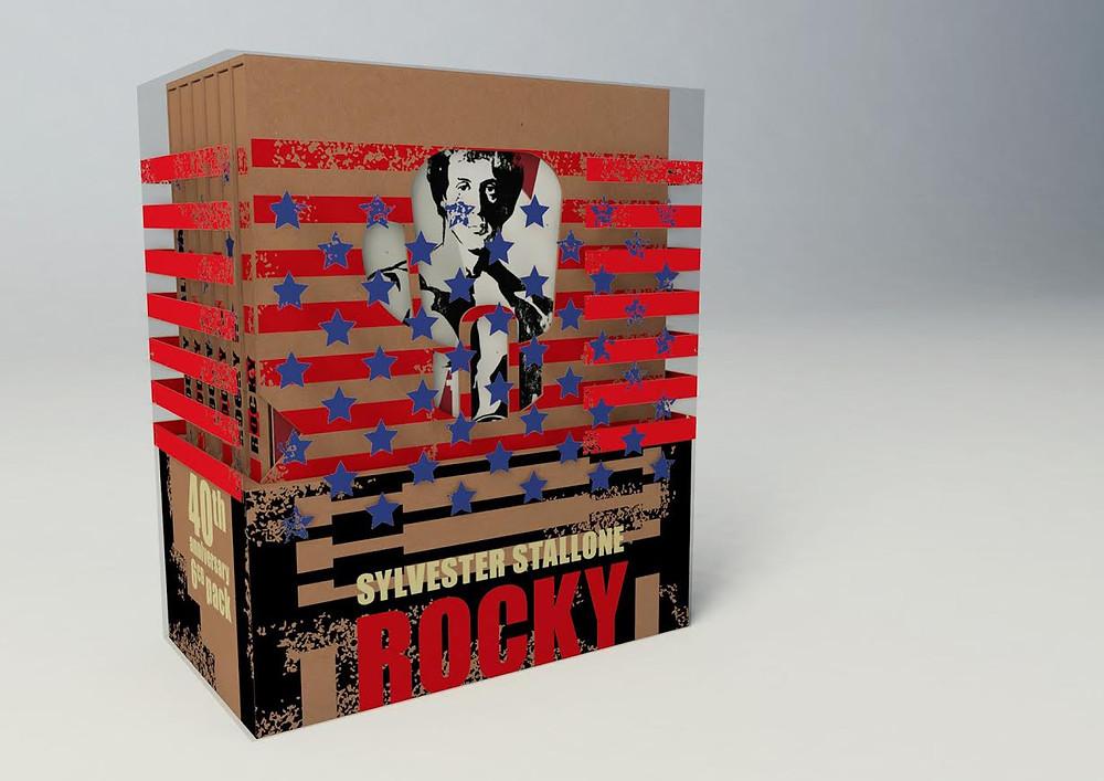 Rocky CZ Blu-ray giftset (Bontonfilm)