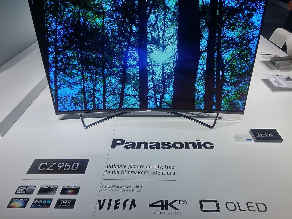 Panasonic CZ950 OLED (IFA)