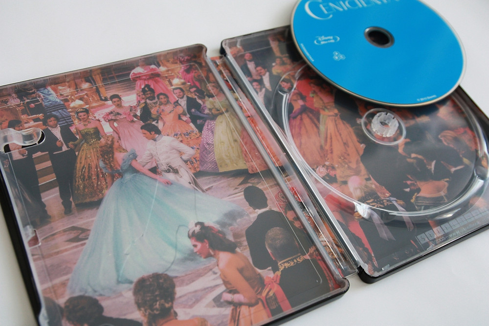 Popelka (španělský Blu-ray steelbook)