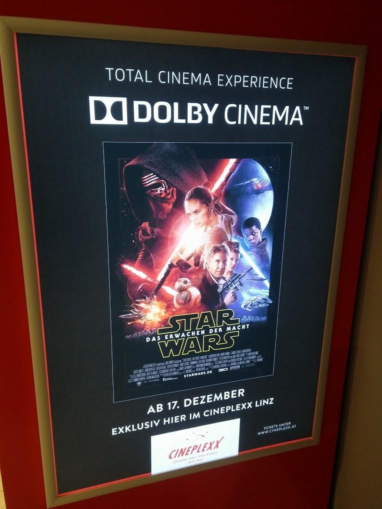 Star Wars v Dolby Cinema