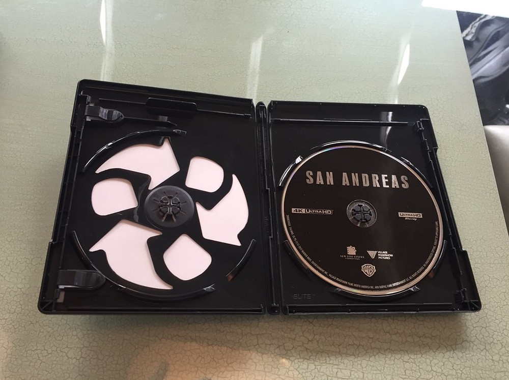 San Andreas (Ultra HD Blu-ray, Warner Bros.)