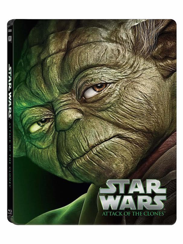 Star Wars: Epizoda II - Klony útočí (CZ Blu-ray steelbook)