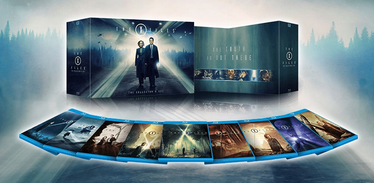 Akta X na Blu-ray