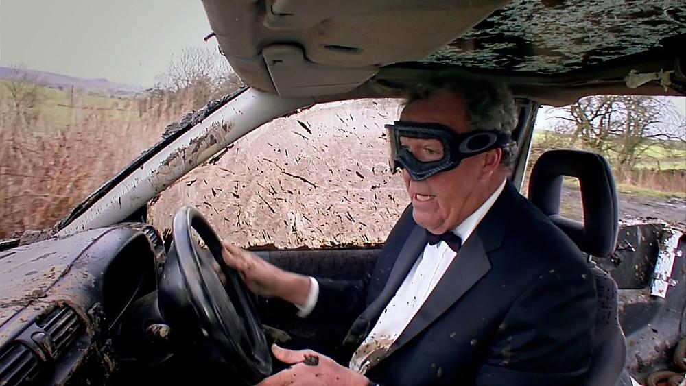 Jeremy Clarkson ve svém posledním vstupu v Top Gear