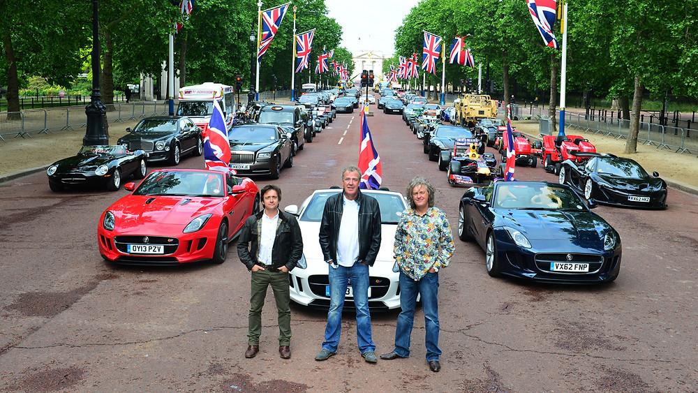 Britský Top Gear, britské bouráky!
