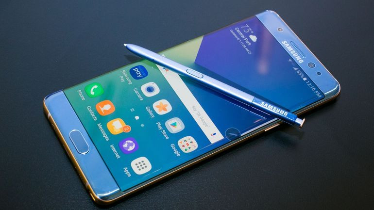 Samsung Galaxy Note 7 (zdroj: cnet.com)