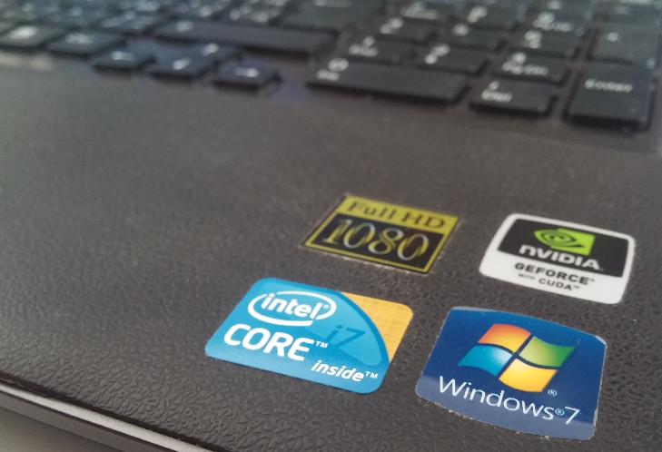 Windows 7 logo na Windows 10