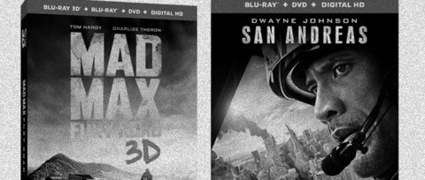Mad Max a San Andreas Blu-ray