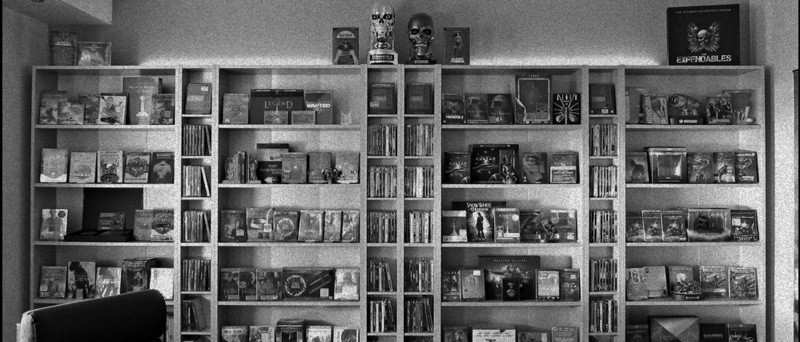Blu-ray kolekce (Steve-O, http://www.hidefninja.com/community/threads/steve-os-blu-ray-collection.35061)