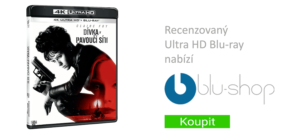 Dívka v pavoučí síti UHDBD na Blu-shop.cz
