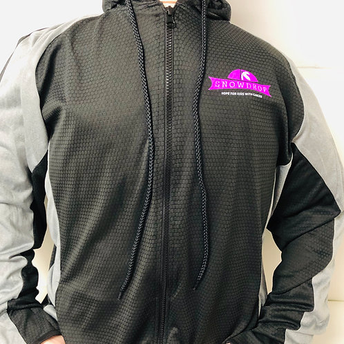 Black/Grey Light Weight Jacket Hoodie