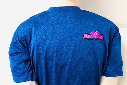 Short Sleeve Cobalt Blue