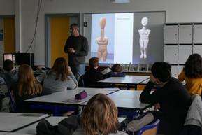 2018, Collège de Rhuys, Sarzeau, Bretagne