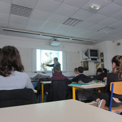 2018, Colege de Rhuys, Sarzeau, France
