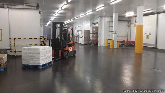 Heavy Load Floor Areas