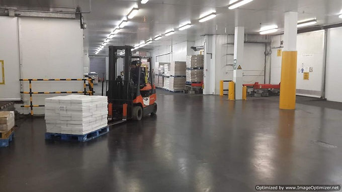Heavy Load Floor Areas