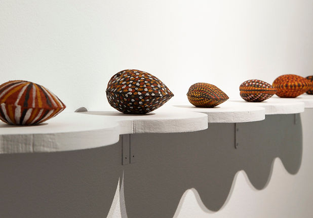 Kaye Brown, Shells, 2015. Photograph_ Fi