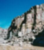 アルゼンチン斑岩採掘場
