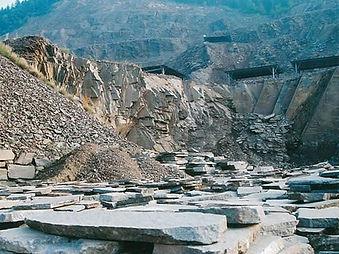 イタリア斑岩採掘場