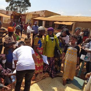 Yocodeso food distribution to Vurnerables families in Dzaleka
