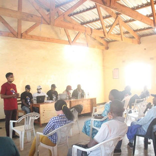 Awareness on Covid-19 in Dzaleka, what a role for young people